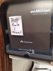 DC Rule 1 Towel