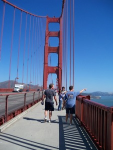 Walking on the Golden Gate 2010