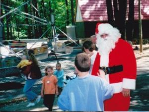 Santa Saves the Day!
