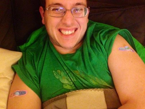 Birthday Band-Aids