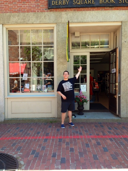 His Favorite Book Store has re-opened! Wicked Good Books - Salem, MA- July 6, 2014