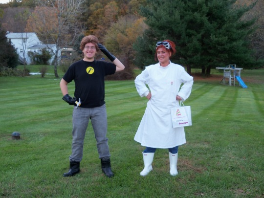 Captain Hammer and Dr. Horrible