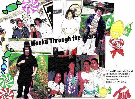 Wonka through the years