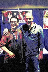 Mitch Pileggi and DC
