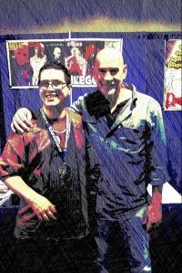 Mitch Pileggi and DC